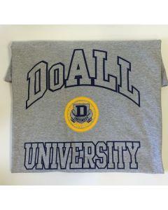 DoALL part W10022 - DoALL Univeristy large t-shirt