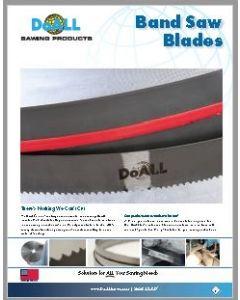 DoALL Band Saw Blade Brochure - 2019