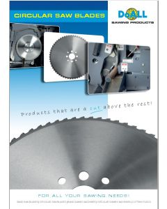 DoALL Sawing Products Circular Blade Brochure