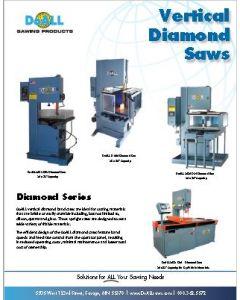 DoALL Diamond Band Saw brochure clip