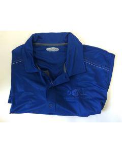 DoALL part W10027 - DoALL Small royal blue golf shirt