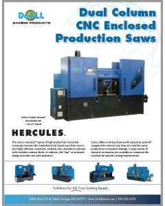 DoALL Hercules Dual Column CNC Enclosed Production Saw brochure clip