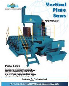 DoALL Vertical Plate saw brochure clip