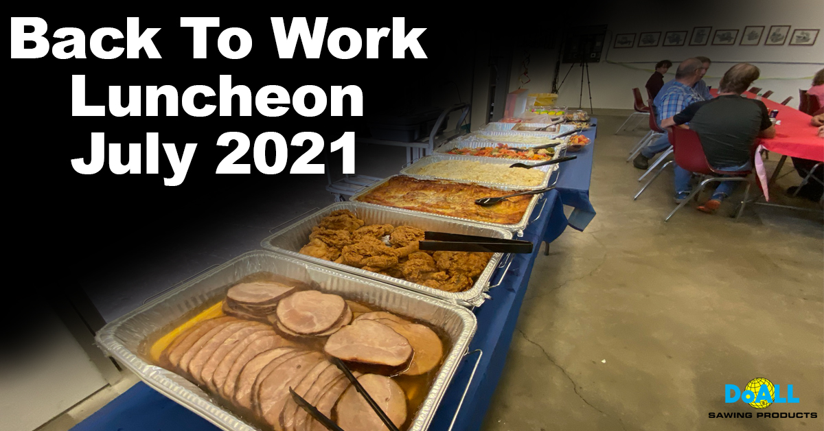 Back To Work Luncheon- July 2021
