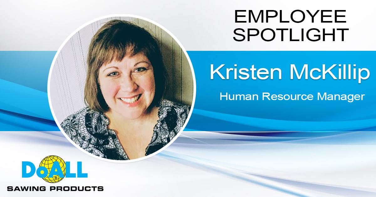 Employee Spotlight-Kristen McKillip